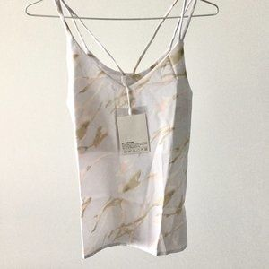 Pale Purple Abstract Pattern Camisole